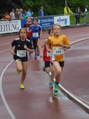 Nach dem Unwetter war in Liestal alles für ein Lauffest der Nachwuchsathletinnen und -athleten angerichtet.