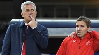 Fragen über Fragen schwirren im Kopf umher: Selbst Trainer Vladimir Petkovic kennt die Antworten nicht.