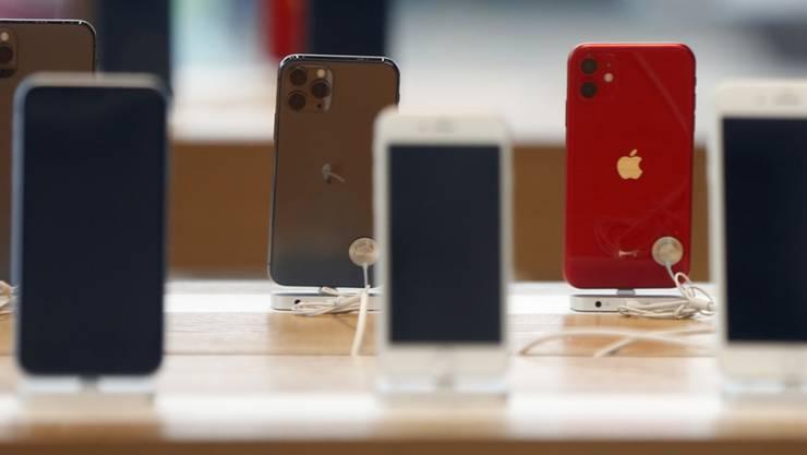 Smartphone-Verkäufe dürften 2020 zurückgehen. (Symbolbild)