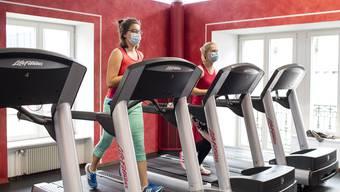 Entfällt über die Festtage das abendliche Training im Fitnesscenter?