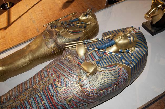 Sarkophage von Pharao Tutanchamun