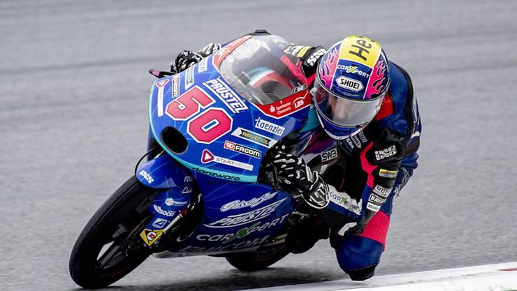 Noch nicht schnell genug für WM-Punkte: Jason Dupasquier auf KTM
