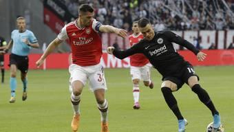 Granit Xhaka (links) wird von den Arsenal-Fans nicht geliebt.