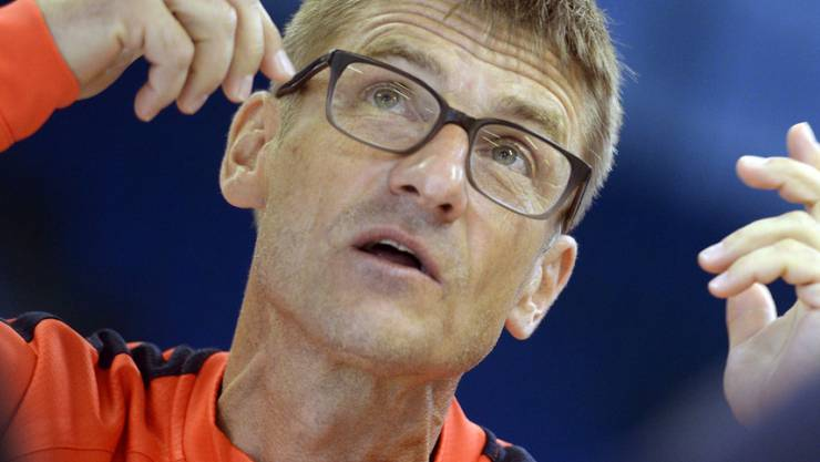 FCZ-Trainer Urs Meier vor dem Europacup-Spiel gegen Dinamo Minsk