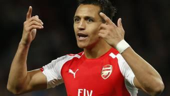 Frust: Alexis Sanchez verlor mit Arsenal