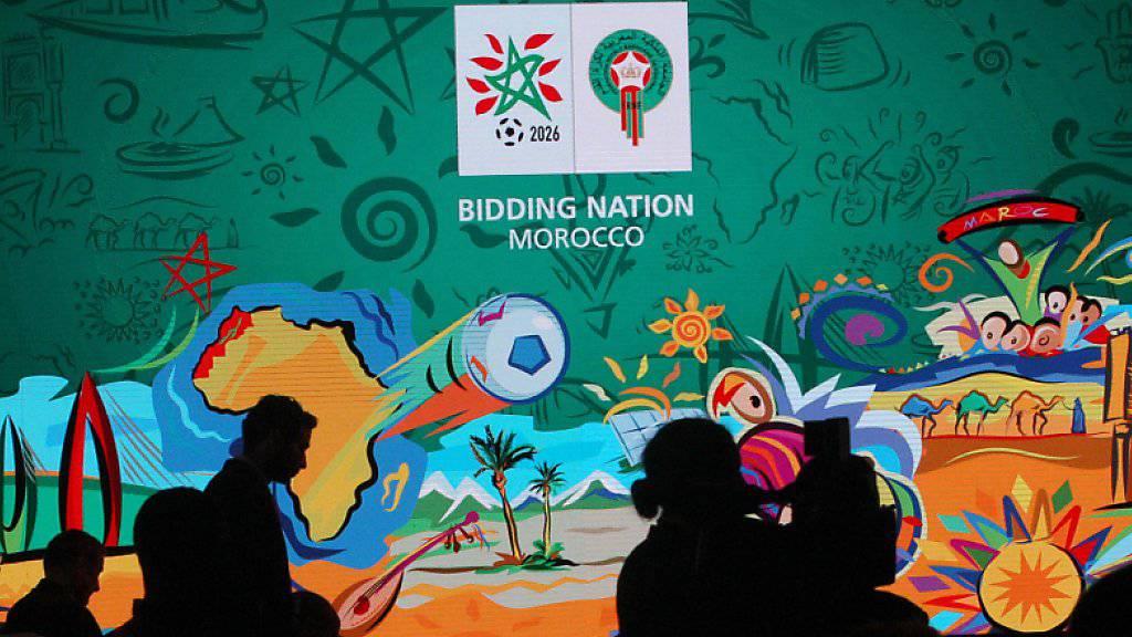 """Die Bewerbung von Marokko zur Austragung der Fussball-WM 2026 stuft eine FIFA-Kommission in den Bereichen Stadien, Unterkünfte und Transport als """"hochriskant"""" ein."""