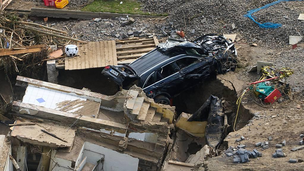 Mindestes 110 Tote bei Hochwasserkatastrophe in Ahrweiler