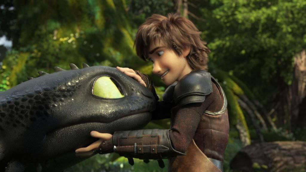 Das diesjährige Animationsfilmfestival Fantoche vom 3. bis 8. September wird unter anderem Einblicke gewähren, wie der Film «How To Train Your Dragon: The Hidden World» entstanden ist.
