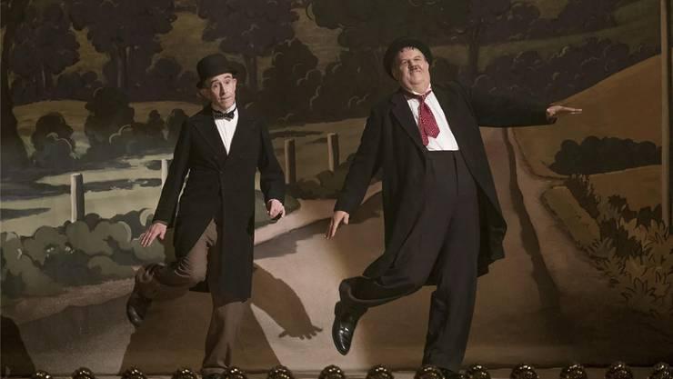 Starkomiker von heute spielen Starkomiker von gestern: Steve Coogan als Stan Laurel («Doof») und John C. Reilly als Oliver Hardy («Dick»). Impuls Pictures