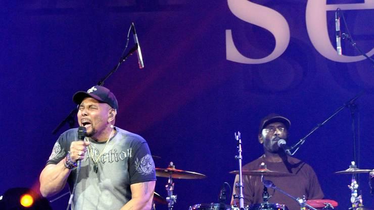 Soul-Sänger Aaron Neville an der letztjährigen Avo-Session. NiZ