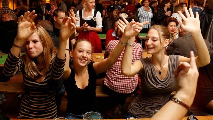 Für die Party-Rendite sind Sitzplätze eher von Nachteil, meint Markus Moerler.