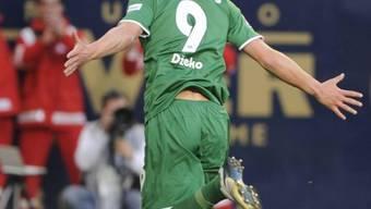 Wolfsburgs Edin Dzeko