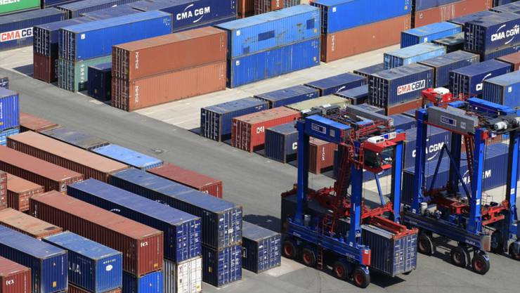 Schweiz exportiert mehr. (Symbolbild)