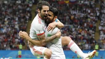 Impressionen zum Gruppenspiel Iran - Spanien