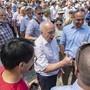 Kann problemlos über Blockchain-Technologie und Kryptowährungen referieren, kann aber auch Smalltalk: Bundespräsident Ueli Maurer am Freitag auf der Bundesratsreise in Nidwalden