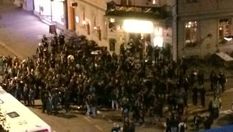Scharmützel mit St.Gallen-Fans