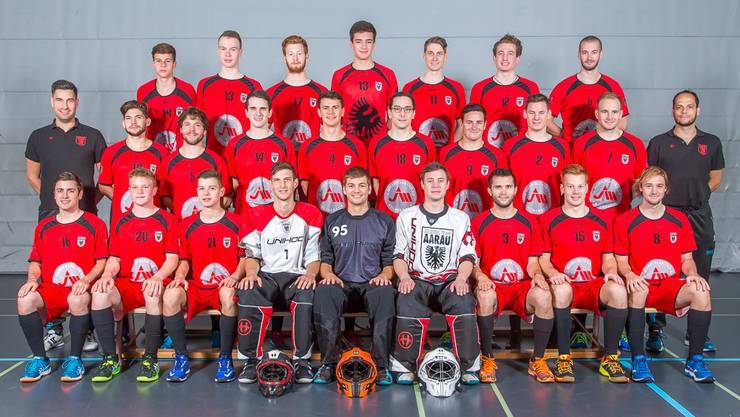 Das Team Aarau steigt nach zwei Saisons in der 1. Liga in die 2. Liga ab (Bild: Fabio Baranzini).