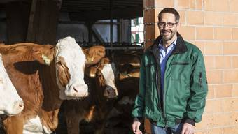 Ralf Bucher, Landwirt, Grossrat und Geschäftsführer des Bauernverbands schaut froh auf das spezielle Jahr 2020 zurück.