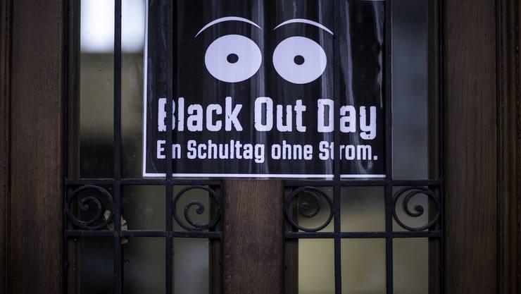 Black out day an der Oberstufe in den Schulhäusern Zentrum