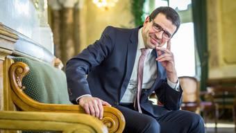 In der Wandelhalle: Matthias Jauslin, Unternehmer und FDP-Nationalrat.