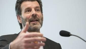 Chefunterhändler Roberto Balzaretti hat am Mittwoch vor den Medien Fragen zum Rahmenabkommen mit der EU beantwortet und das vorgesehene Konsultationsverfahren erläutert. (Archivbild)