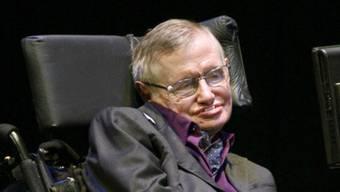 Der Astrophysiker Stephen Hawking (Archiv)