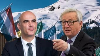 Keine Zeit für ein Treffen: Juncker hat Berset eine Absage erteilt.