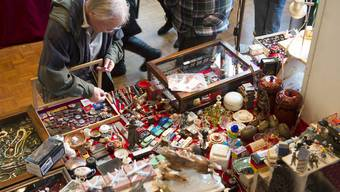 Die 28. Aargauer Antiquitäten- und Sammlermesse legte einen erfolgreichen Start hin.