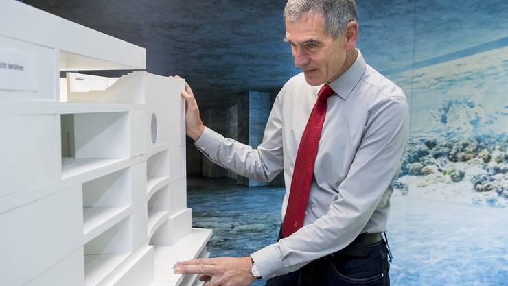 Olivier Pagan hält an der Wirtschaftlichkeit seines Projekts fest.