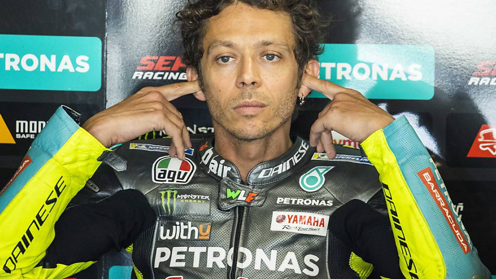 Seine 26. Saison ist zugleich die letzte: der 42-jährige «Dottore» Valentino Rossi tritt auf Ende Saison zurück