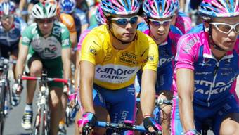 Schöne Erinnerungen: Der neue Schweizer Strassen-Assistenztrainer Rubens Bertogliati fuhr an der Tour de France 2002 zwei Tage im Maillot jaune