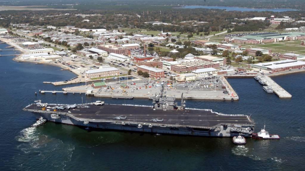Der US-Militärstützpunkt Pensacola im Bundesstaat Florida. (Archivbild)