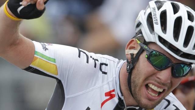 Mark Cavendish feiert zweiten Etappensieg