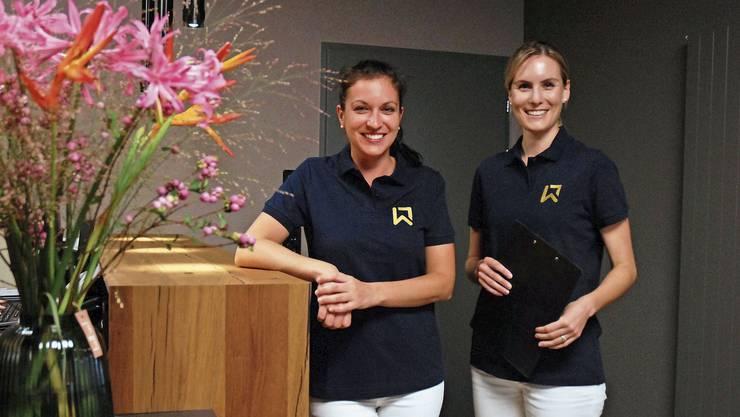 Stefanie Oertig und Linda Heierle wünschen sich Solidarität von den Liegenschaftsbesitzern.