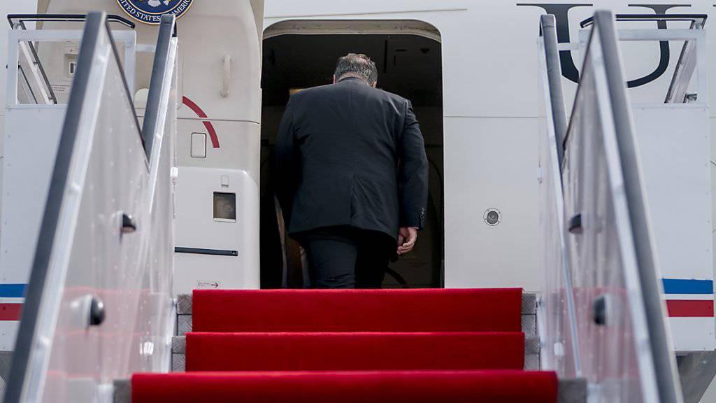 Kaum hatte US-Aussenminister Pompeo Nordkorea verlassen wurden die Gespräche unterschiedlich bewertet: Für Pompeo gab es Fortschritte, für Nordkorea nur Enttäuschungen.