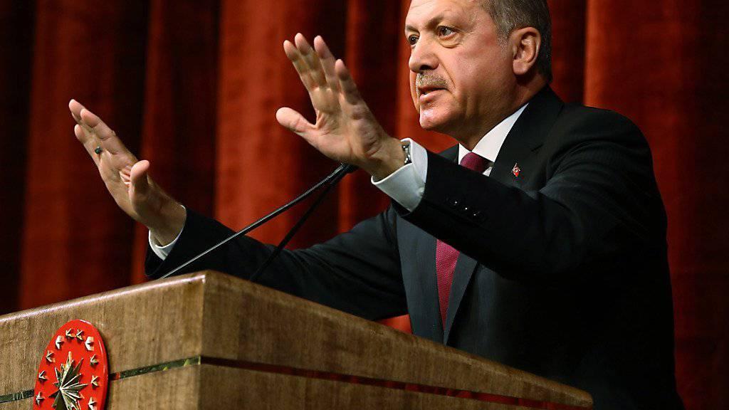 """""""Kleines Paket"""": Erdogan will nach dem Putschversuch die Verfassung ändern lassen, um Militär und Geheimdienst unter Kontrolle zu bringen."""