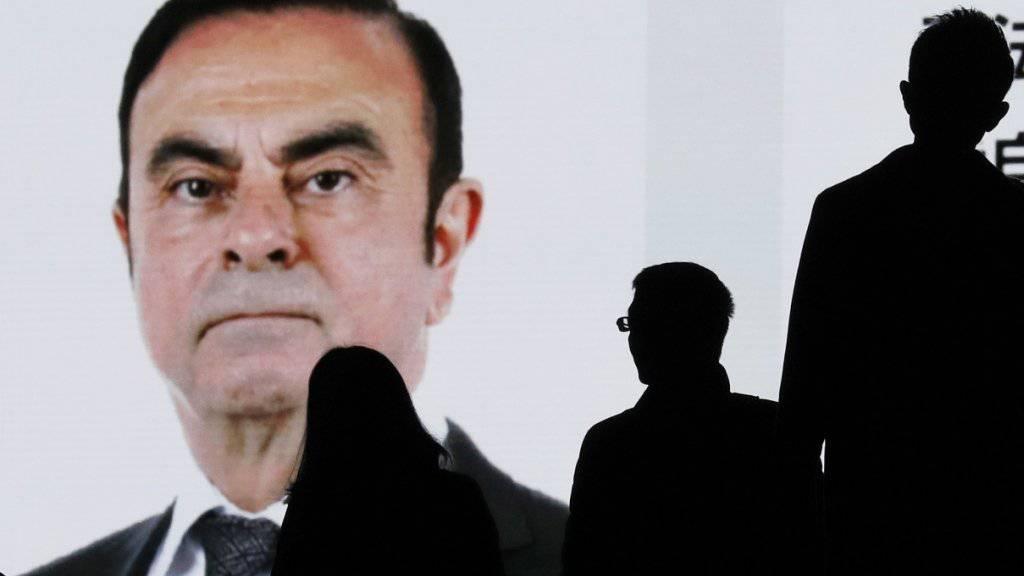 Soll jahrelang sein Einkommen unvollständig deklariert haben: der frühere Nissan-Chef Carlos Ghosn. (Archivbild)