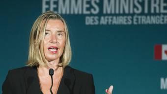 Sieht einen Weg zur Umgehung von US-Sanktionen im Iran: die EU-Aussenbeauftragte Federica Mogherini. (Archivbild)