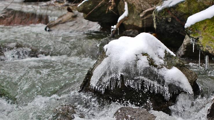 Winter an der Suhre.