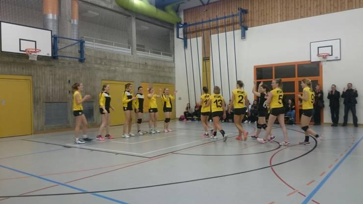 Die erste Damenmannschaft des SV Volley Wyna spielt am 6. März um den Einzug ins Finale des Aargauer Cups.