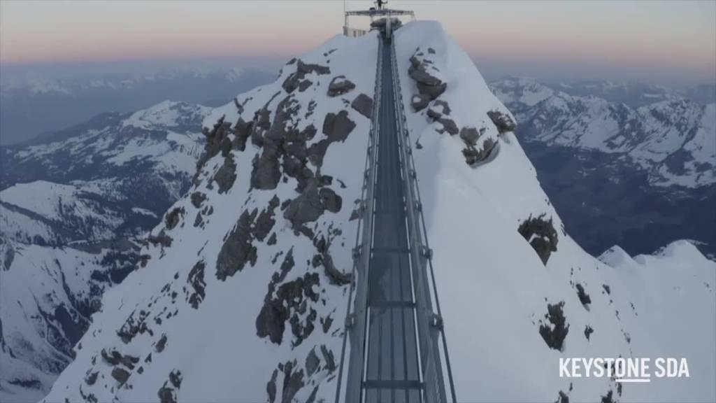 Ein Elektro-Konzert auf den Gipfeln der Waadtländer Alpen