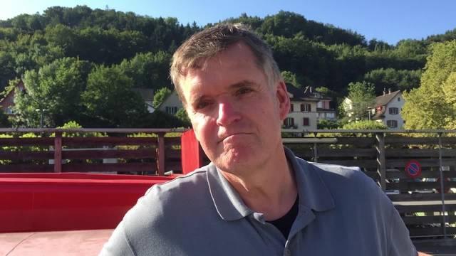 FDP-Einwohnerrat Daniel Schneider berichtet von seinen Eindrücken der frühmorgendlichen Putzete an der Badenfahrt.