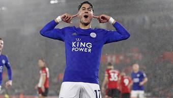 Zuerst gefoult, dann drei Mal erfolgreich: Ayoze Perez hat in Southampton viel zu feiern