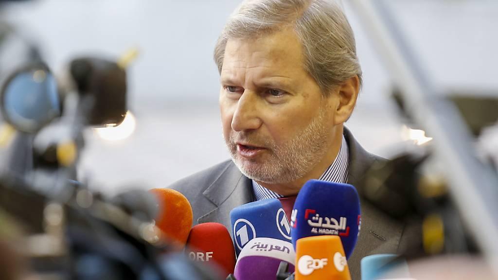 EU-Kommissar Hahn behält Schweiz-Dossier