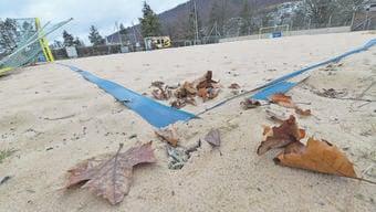 Triste Zeiten beim «Gitterli» Man hofft auf ein baldiges Frühlingserwachen im Baselbieter Beach Soccer.