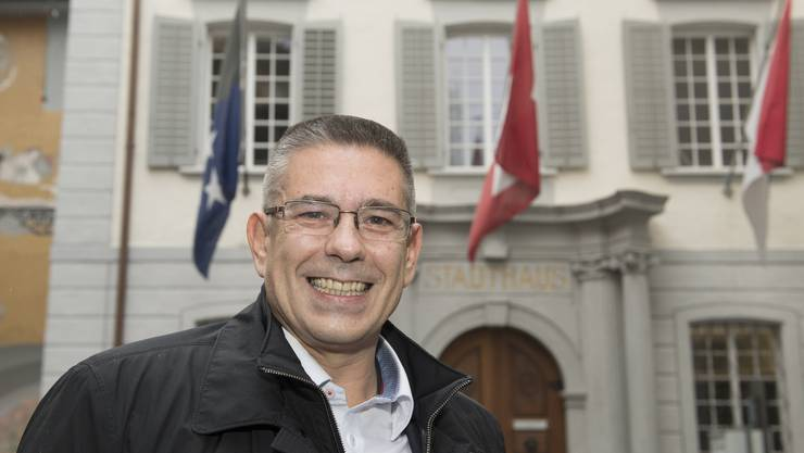 Markus Schneider ist neuer Stadtammann von Baden.