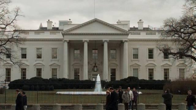 Zielobjekt des Verurteilten : das Weisse Haus in Washington