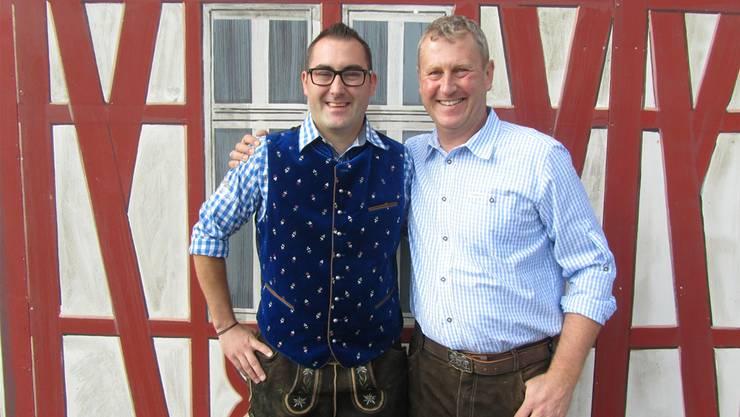 Die Veranstalter, Benny Brückner, Centerleiter Gäupark (links) und André Brönnimann, Eventmanager Trend Fabrik, ziehen eine positive Bilanz.