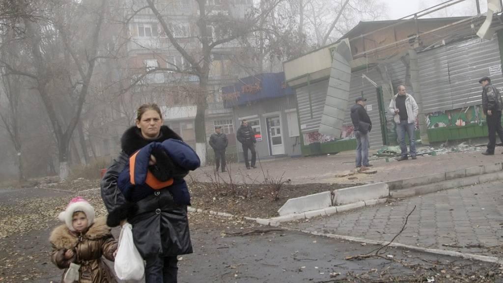 """Ukraine-Konflikt: Donezker Separatisten legen """"Staatsgrenze"""" fest"""