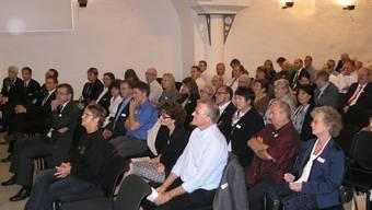 Das Wirtschaftsforum «ErfolgsSignale» in Rheinfelden findet bereits in der 15. Ausgabe statt. Im Bild: Wirtschaftsforum aus dem Jahr  2013)